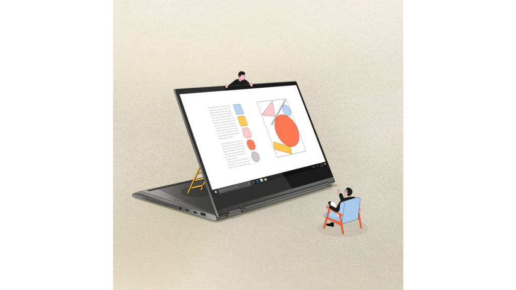 lenovo parallel studio animation motion design tiny guys ordinateur personnages animations