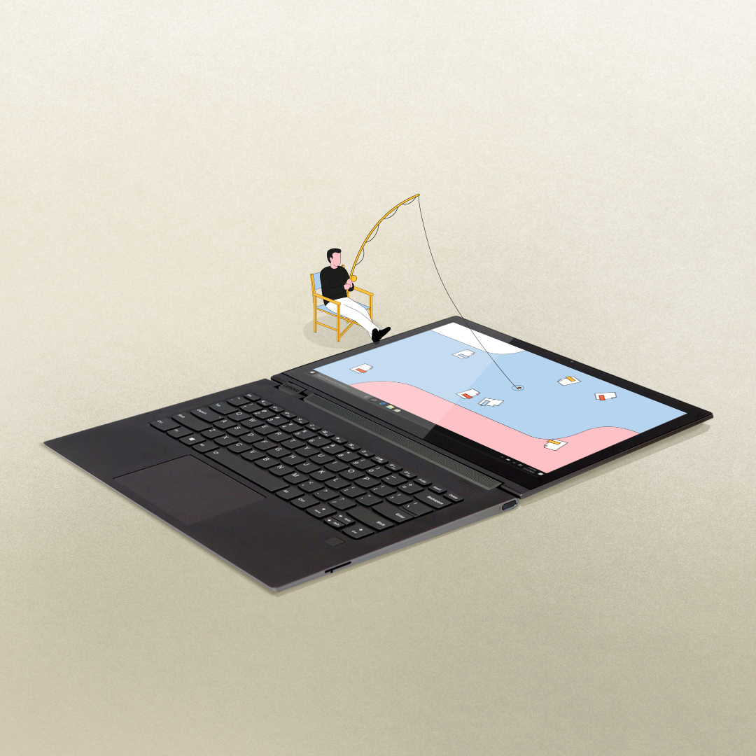 ordinateurs personnages animations Lenovo motion design parallel studio
