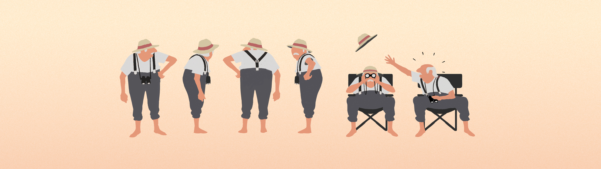 summer story parallel studio animation illustration beach motion design game raquette